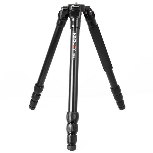 KINGJOY KINGJOY 4-section Aluminum  heavy Duty Stable Camera Tripod for Photo and Video Shooting