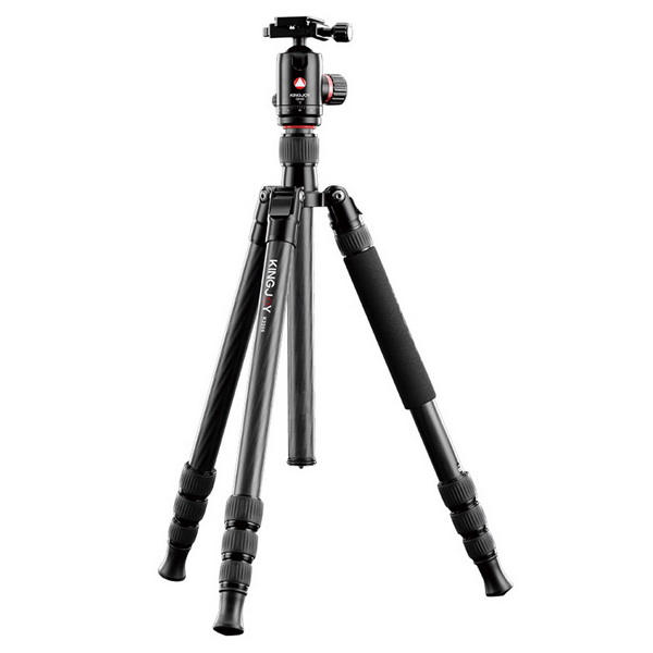 Kingjoy K2208 Travel Series Carbon Fiber Tripod with QH20 Ball Head