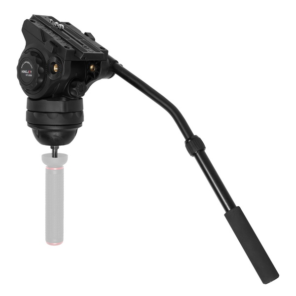 Kingjoy Lightweight Plastic Video & Bird Watching Pan/Tilt Head