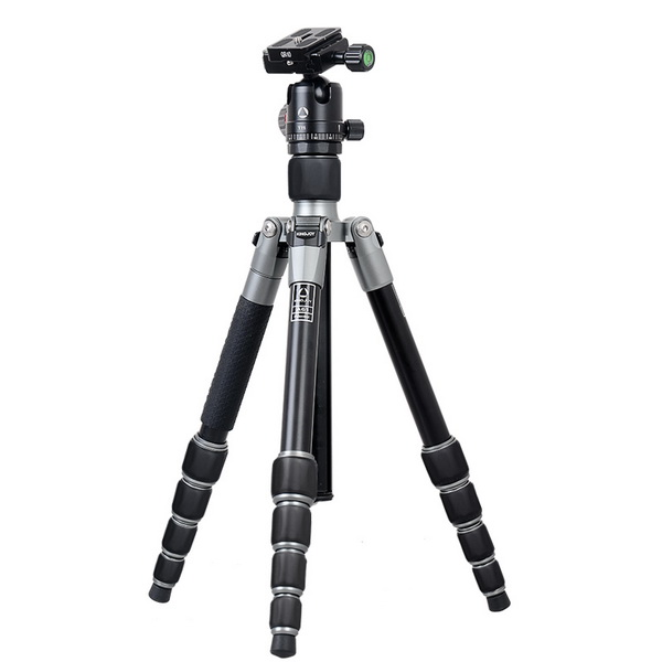 KINGJOY Kingjoy A61 Aurora Aluminum Foldable Tripod with T11 Low Profile Ball Head