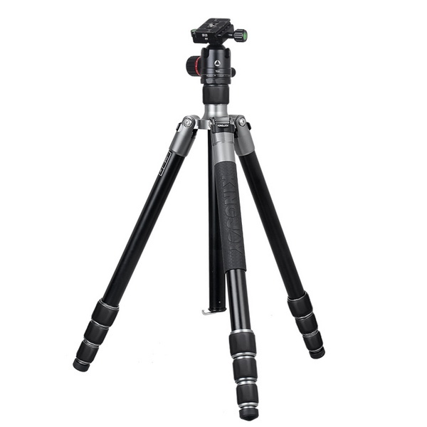 KINGJOY Kingjoy A63 Aluminum Tripod with T21 Low Profile Ball Head