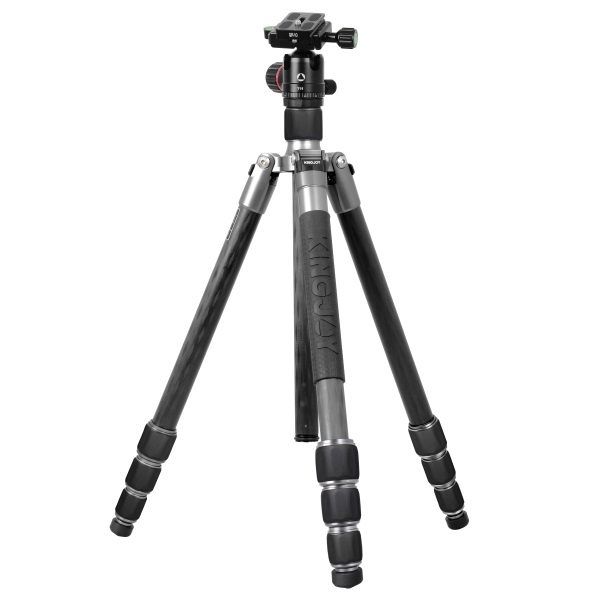 KINGJOY Kingjoy A82 Carbon Fiber Tripod  with T11 Low Profile Ball Head