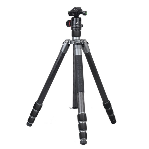 KINGJOY Kingjoy A83 Carbon Fiber Tripod  with T21 Low Profile Ball Head