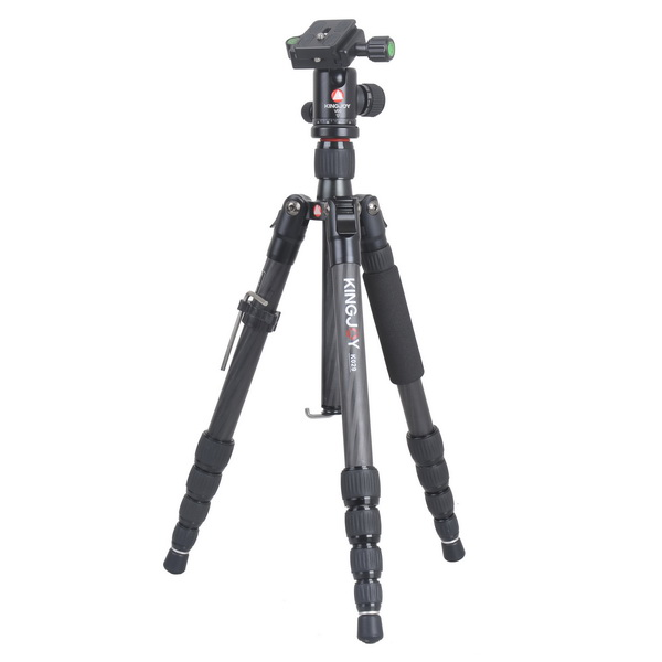 KINGJOY Kingjoy K029 Travel Series Carbon Fiber Tripod with V00 Ball Head