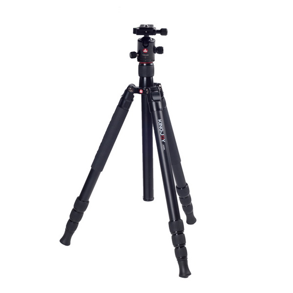 KINGJOY Kingjoy K3008 Travel Series Aluminum Tripod with Q20 Ball Head
