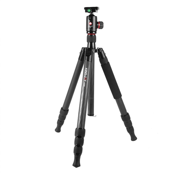 KINGJOY Kingjoy K3208 Travel Series Carbon Fiber Tripod with QH20 Ball Head