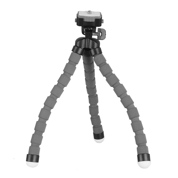 KINGJOY KINGJOY KT-600 Flexible Mini Tripod with quick release plate-Red