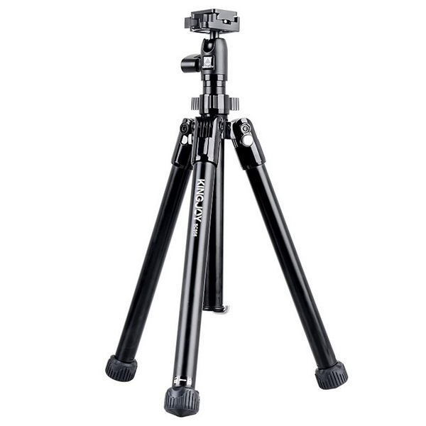 KINGJOY Kingjoy SC056 5 sections foldableTripod Kits with low angle shooting and center column can be used as monopod