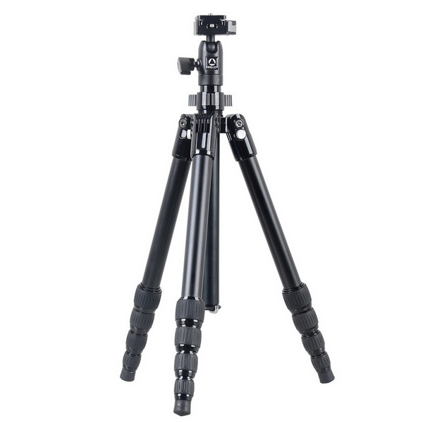 KINGJOY Kingjoy SF056 5 sections foldable Tripod Kits with low angle shooting and center column can be used as monopod