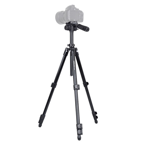 KINGJOY SF146 S Series Small Aluminum Tripod(2 Section Center Column)