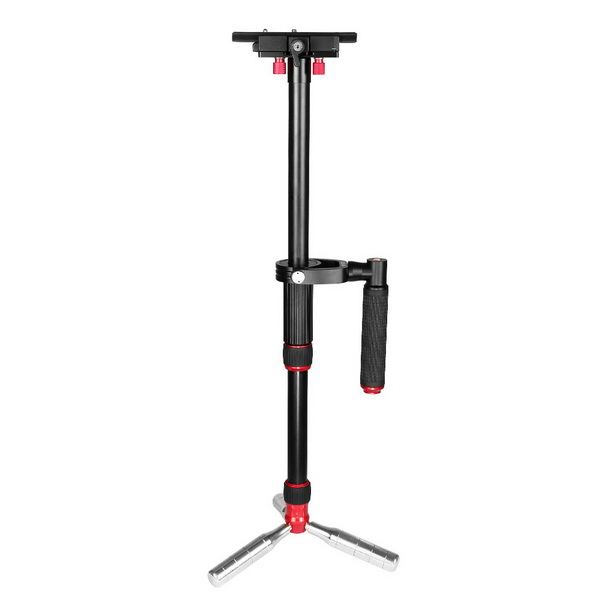 KINGJOY Handheld Camera Stabilizer with Quick Release Plate 4/1