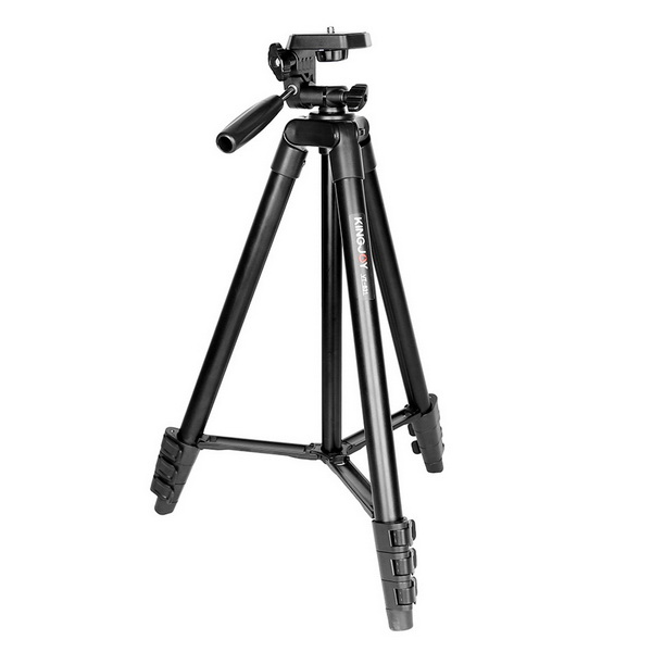 KINGJOY VT-831 Small Live 4 Section Video Tripod
