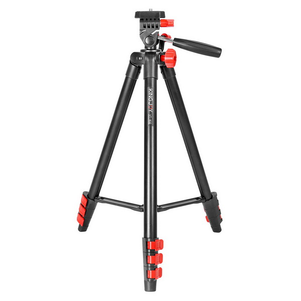 KINGJOY VT-832 Small Live Video Tripod(The rocker raises the center column)